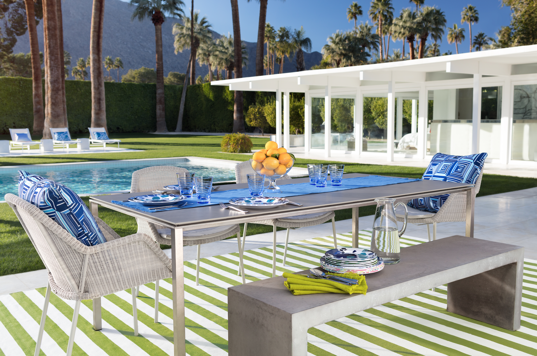Annie Selke's Palm Springs Collection | Fresh American Style
