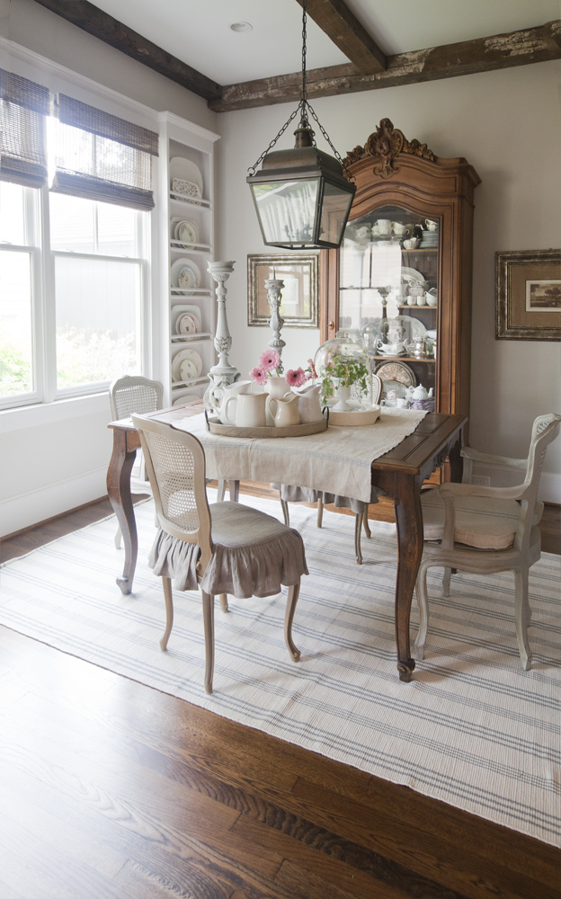 Stripe Rug by Annie Selke-Photo by Cedar Hill Farmhouse | Fresh American Style