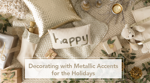 Bring on the Bling: Holiday Decorating With Metallics | Annie Selke's Fresh American Style