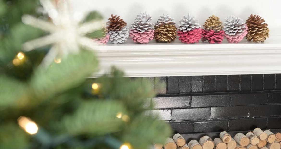 Holiday pine cone decorating fresh american style for American style christmas decorations