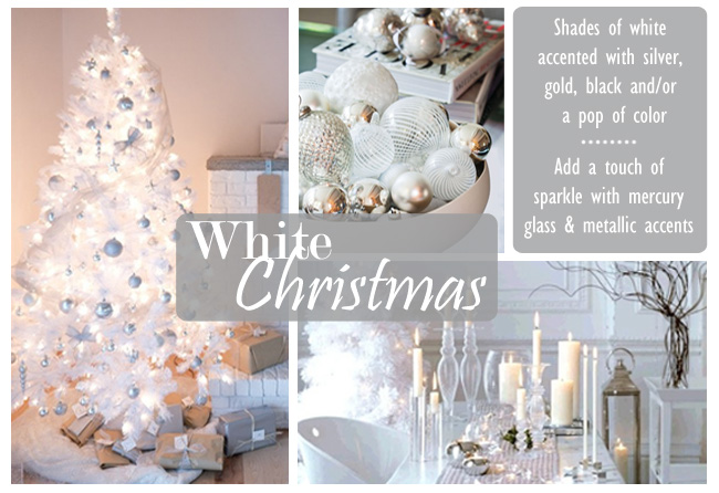 get the look white christmas