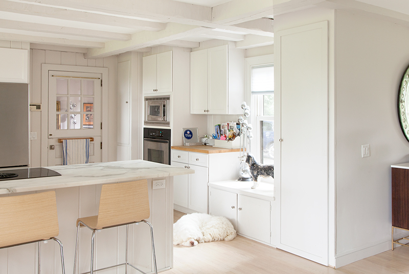 Hidden Home Office Repurposed Kitchen Cabinet Fresh American Style