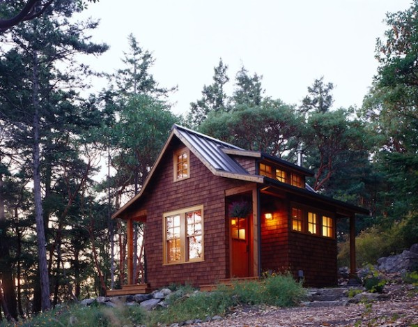 Orcas Island cabin, via Tiny House Blog
