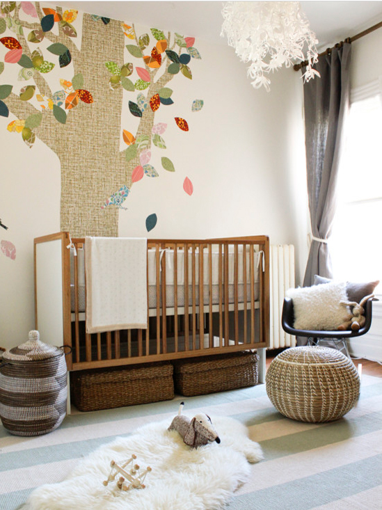 Dash and Alber indoor outdoor rug nursery Houzz
