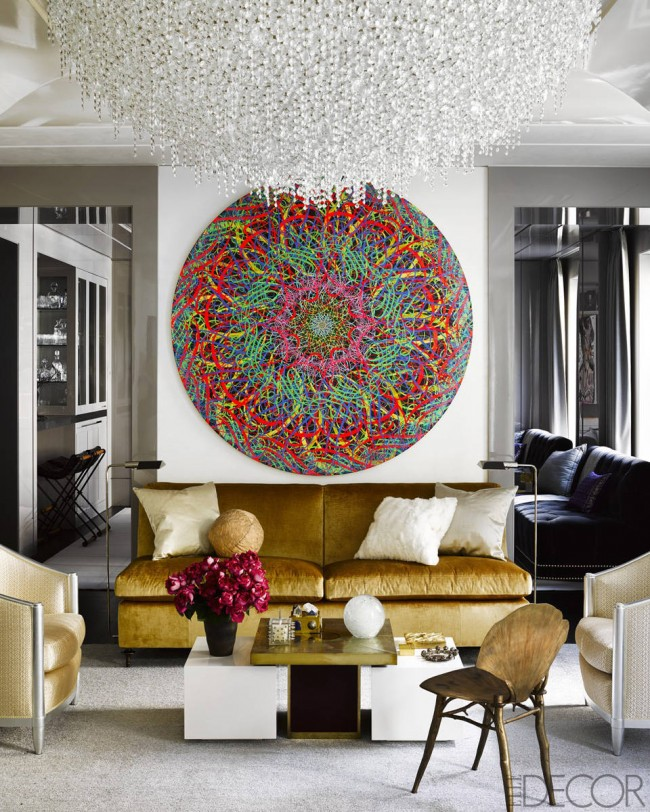 Elle Decor Manhattan townhouse