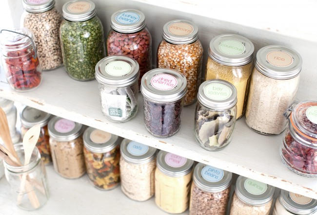 kitchen cabinet storage organization