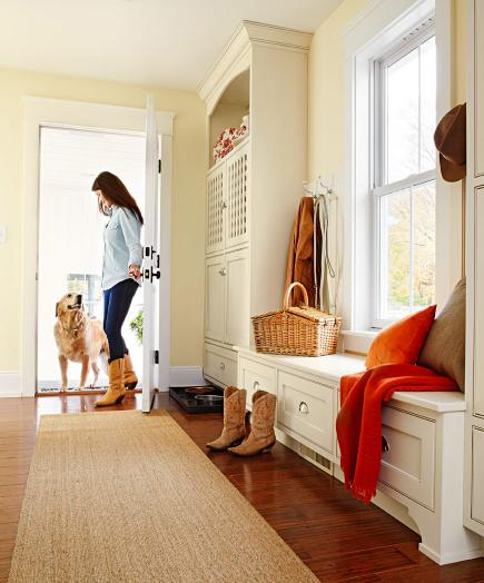 Midwest Living mudroom