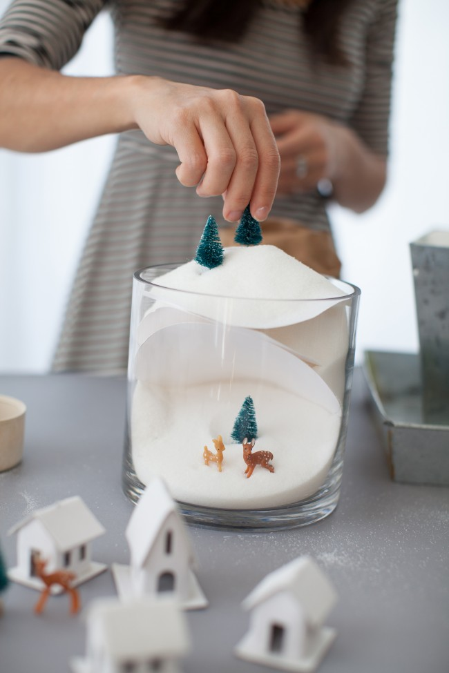 DIY winter dioramas 10