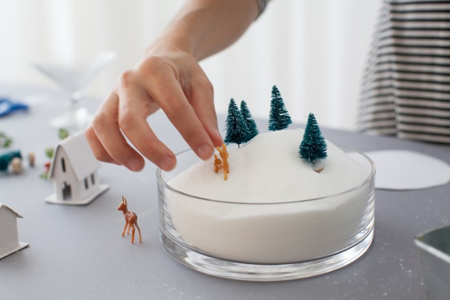 DIY winter dioramas 17