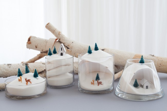 DIY winter dioramas finished