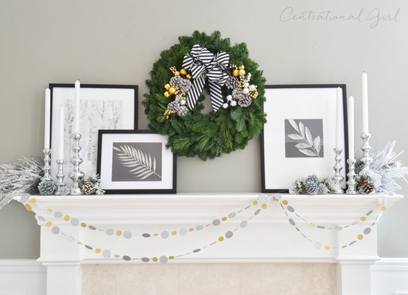 centsational-girl-black-and-white-christmas-mantel