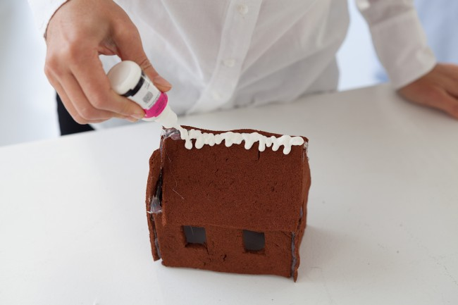 homemade holiday cinnamon houses 10