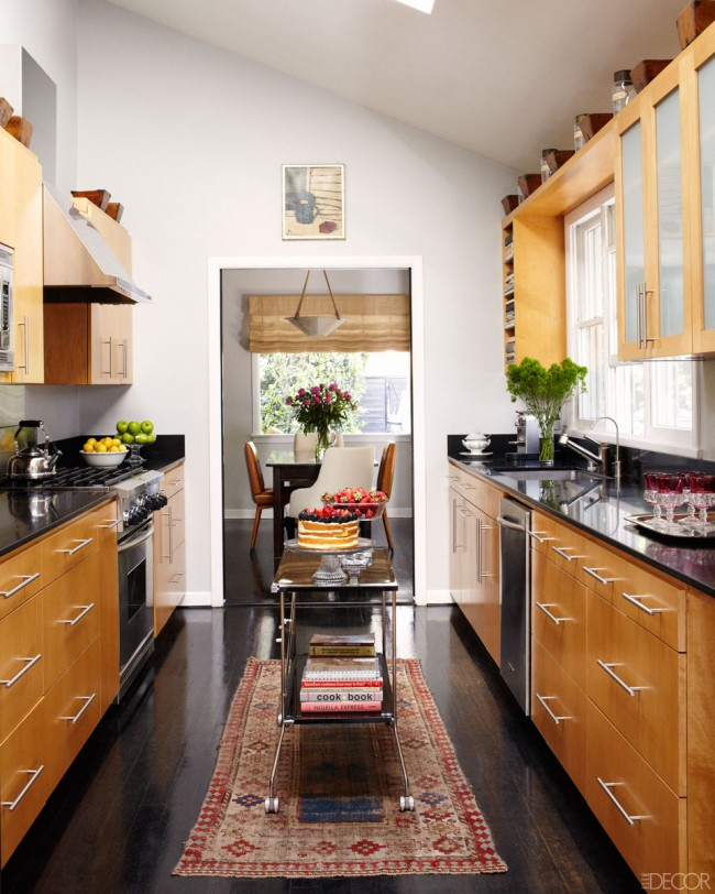 small kitchen Elle Decor