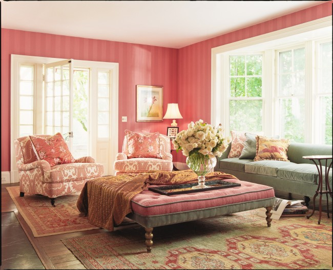 Annie Selke how to mix rug patterns