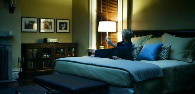 Claire bedroom House of Cards