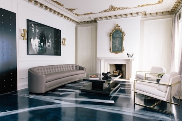 Habitually Chic catherine-kwong-painted-floors-living-room1