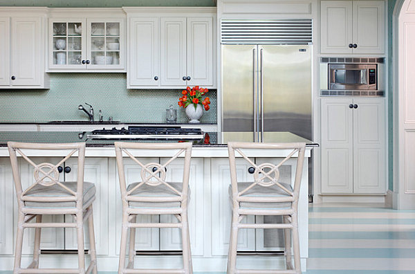 striped kitchen floor Tobi Fairley1