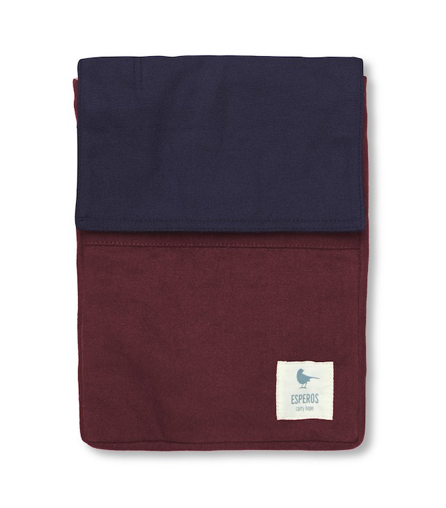 Burgundy Tablet Case (Front)