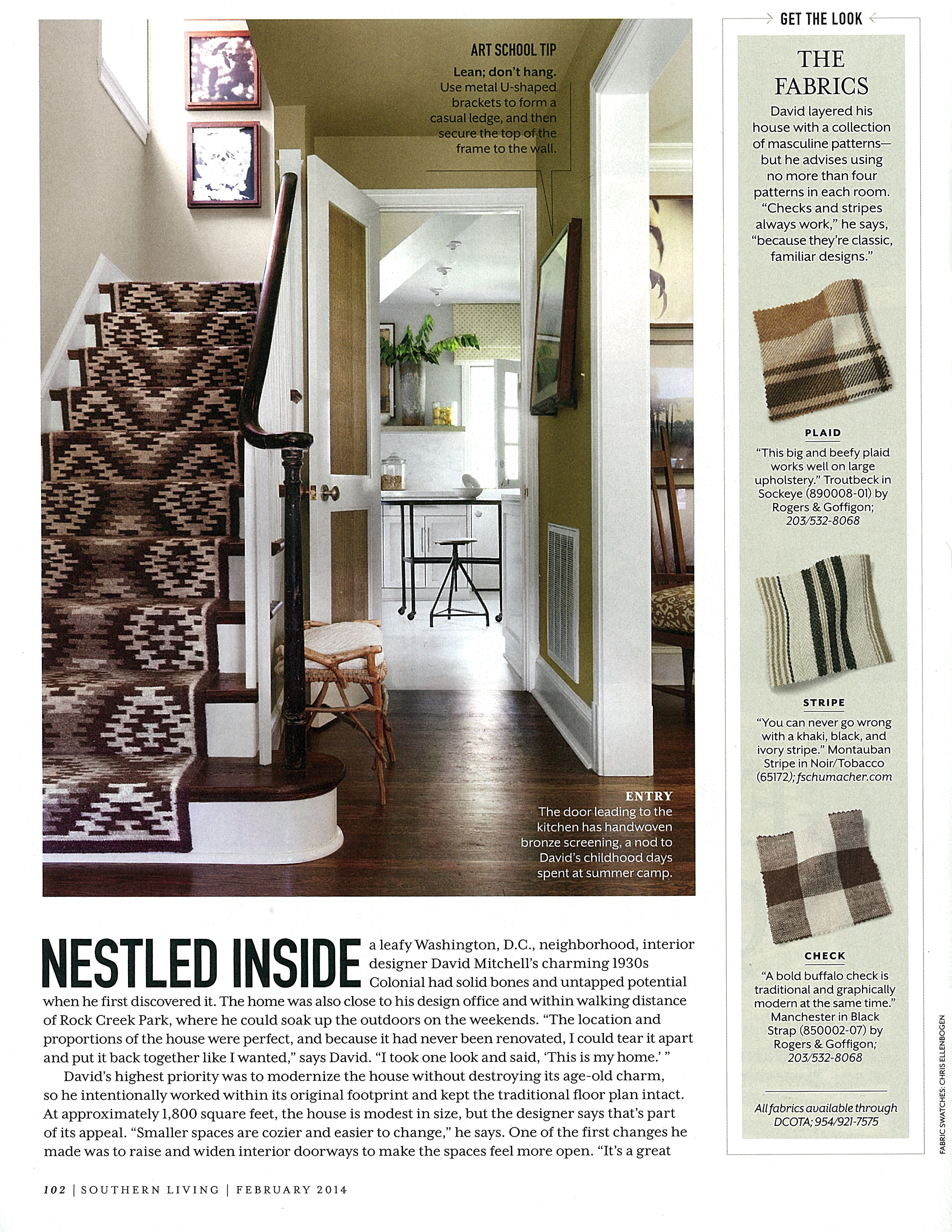 Southern Living Kilim Rug Stair Runner