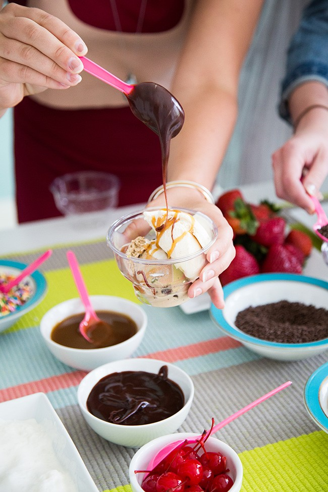 how to host an ice cream social 9