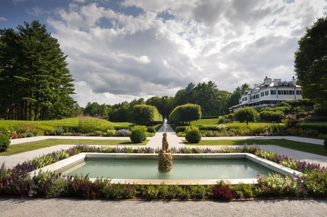 The Mount Edith Wharton estate Lenox Massachusetts