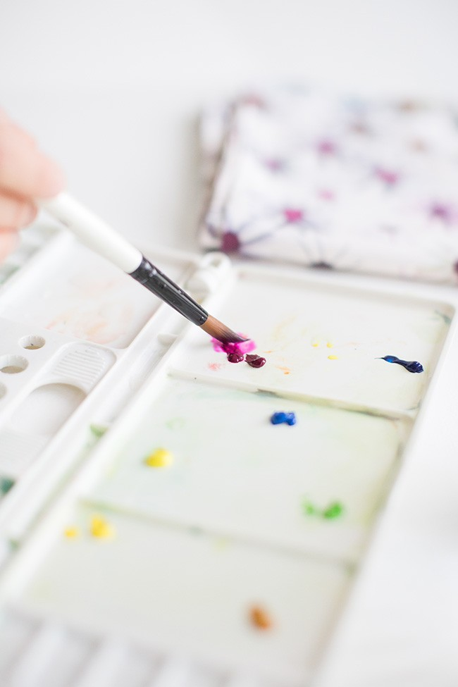 DIY watercolor art 4