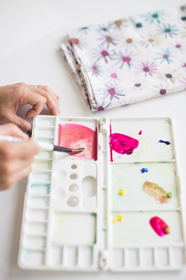 DIY watercolor art 5