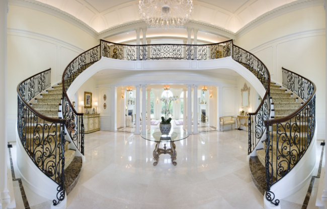 Marble staircase luxury interior Houzz
