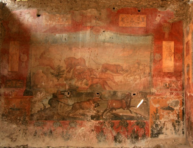 Pompeii_wild_animal_fresco