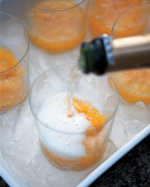 Martha Stewart Champagne-and-Orange-Granita