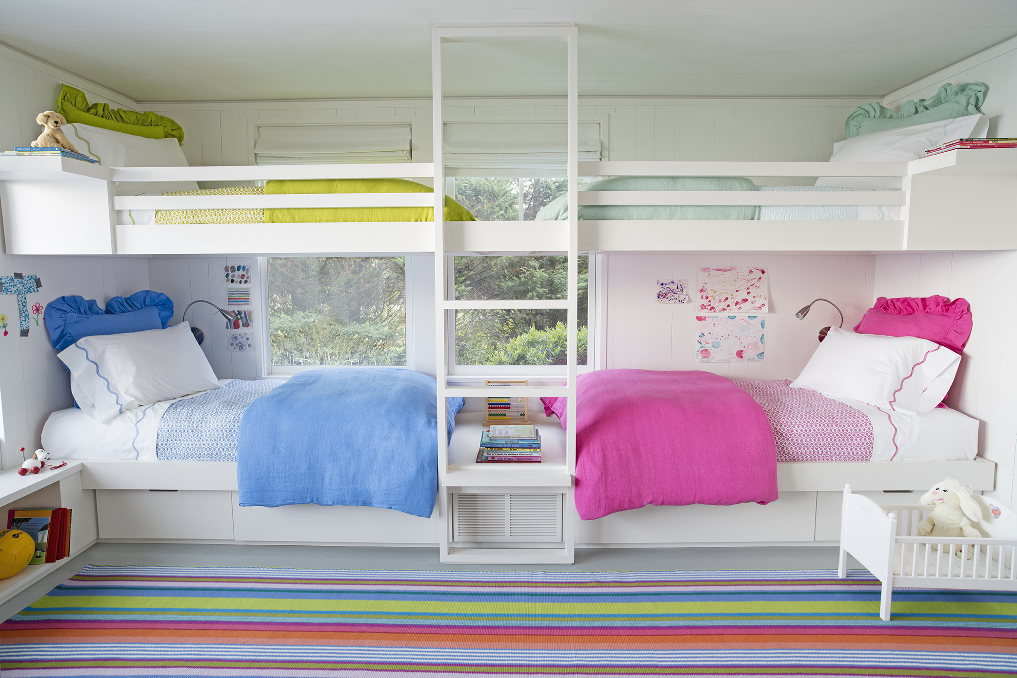 Offset Bunk Beds Why You Can T Go Wrong With A Classic Bold Stripe Fresh