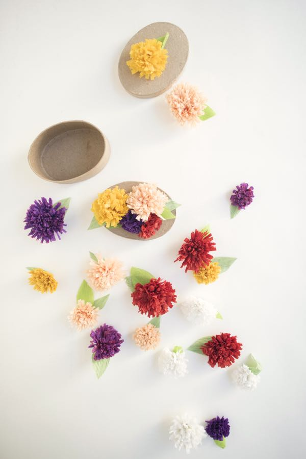 Oh Happy Day fall chrysanthemum flowers DIY