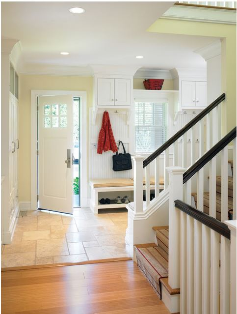 stair runner installation LDA Architecture and Interiors