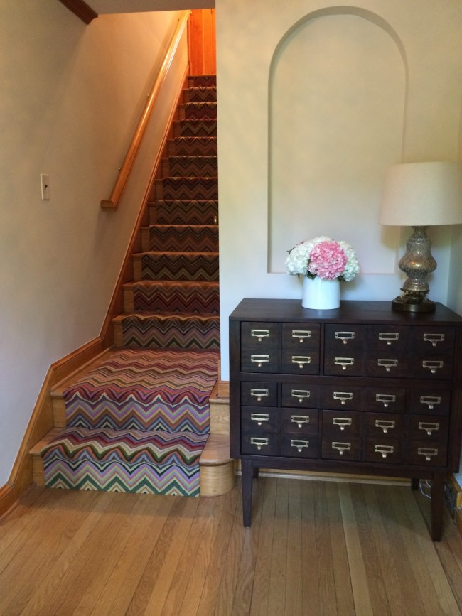 stair runner installation Married to Ginger