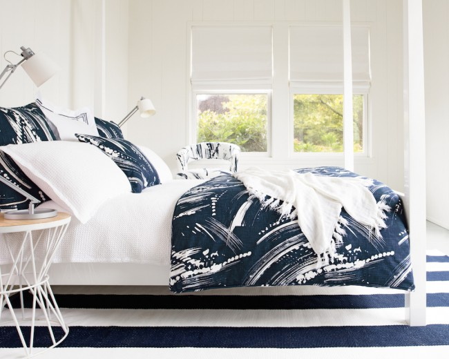 Montauk Bedroom Brushstroke