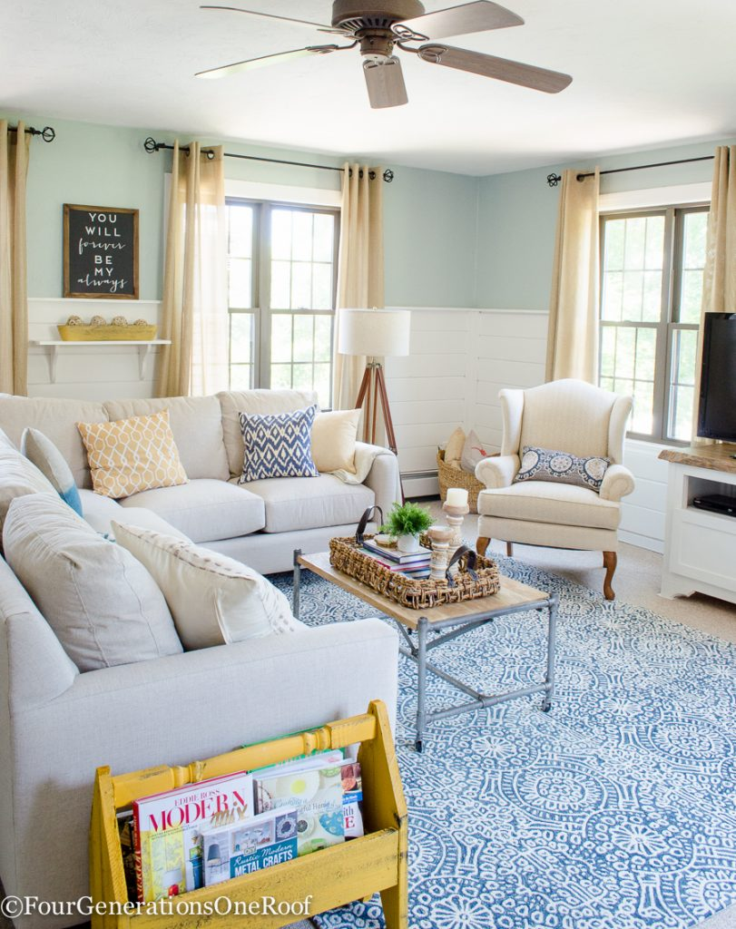 A Functional & Family-Friendly Living Room Makeover: Q&A with ...