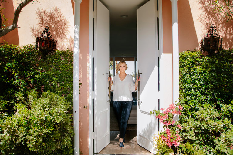 Annie at her Marrakesh Home | Annie Selke's Fresh American Style