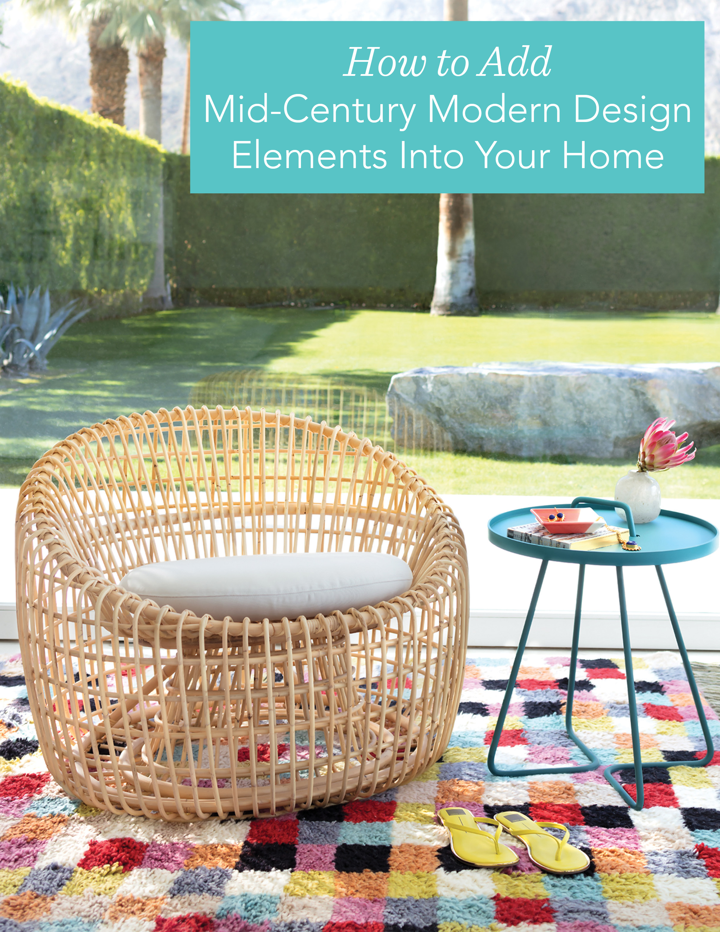 Get the Elements of a Mid-Century Modern Look | Annie Selke's Fresh American Style