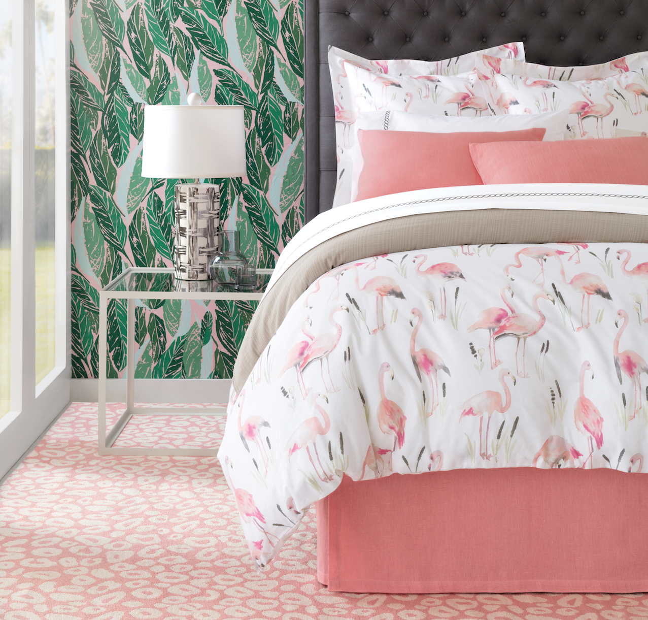 Flamingo Bedding by Annie Selke | Fresh American Style