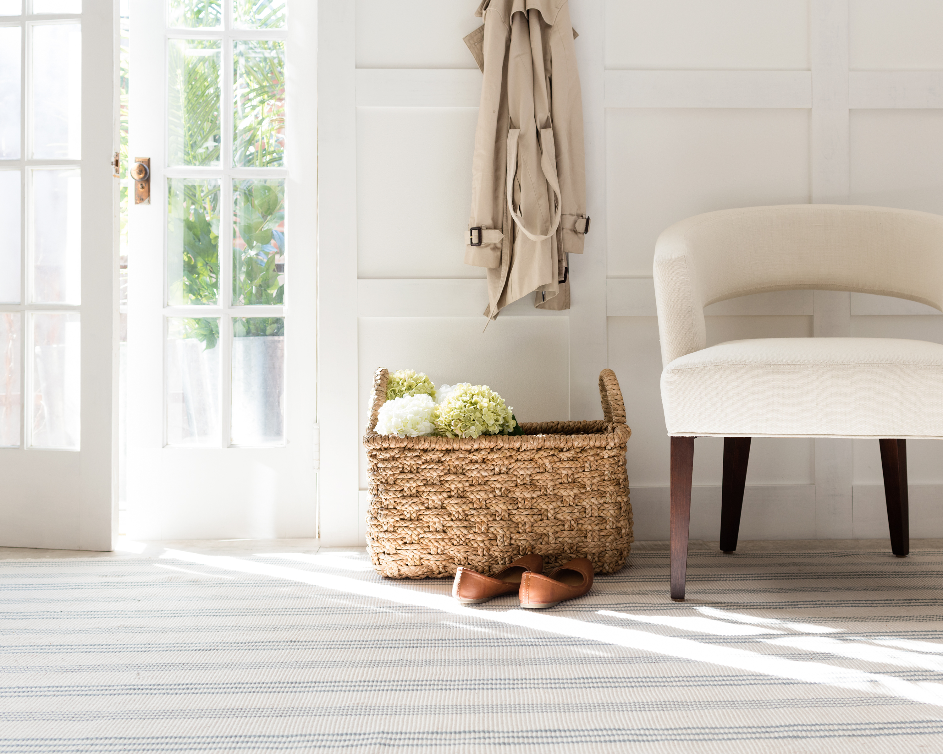 Swedish Stripe Rug by Annie Selke's Dash & Albert | Fresh American Style