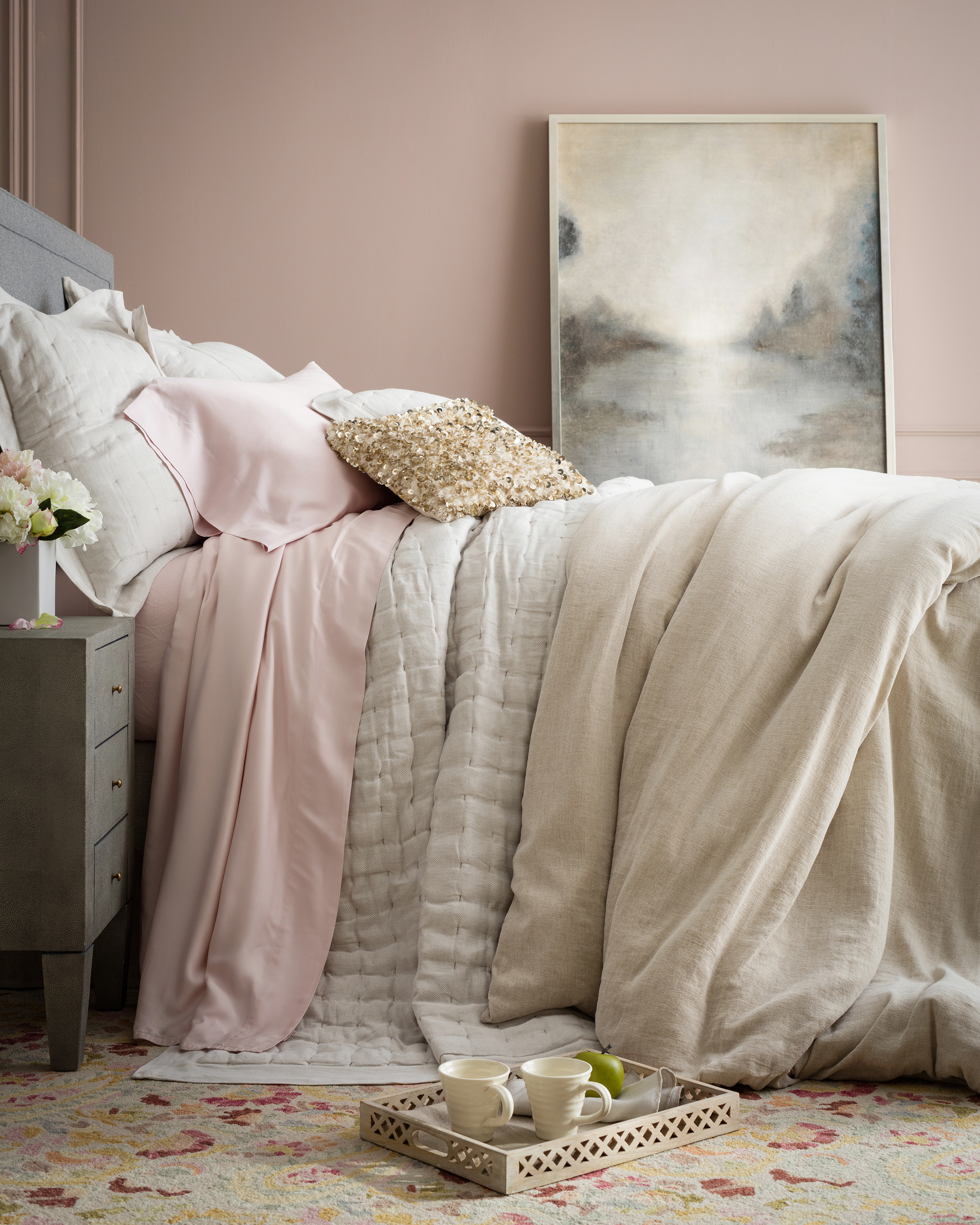 Brussels Quilted Bedding by Annie Selke | Fresh American Style