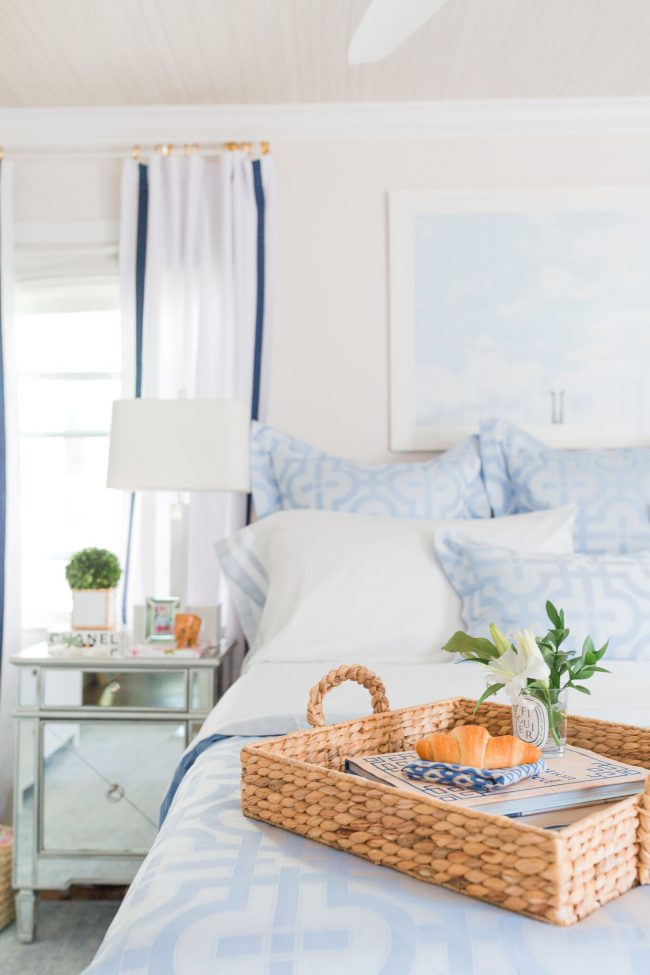 Room View with Lemon Stripes | Annie Selke's Fresh American Style