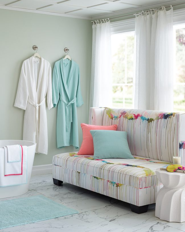 Say Spaaaaah! How To Create Your Own Spa at Home. | Annie Selke's Fresh American Style