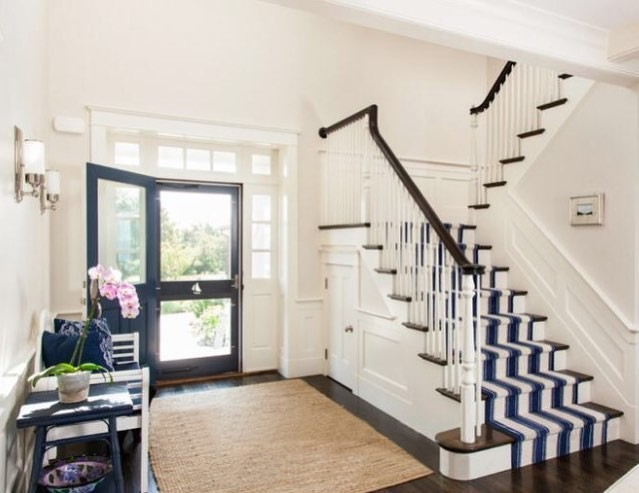 Style Stair Down: Our Favorite Stair Runner Installations | Annie Selke's Fresh American Style