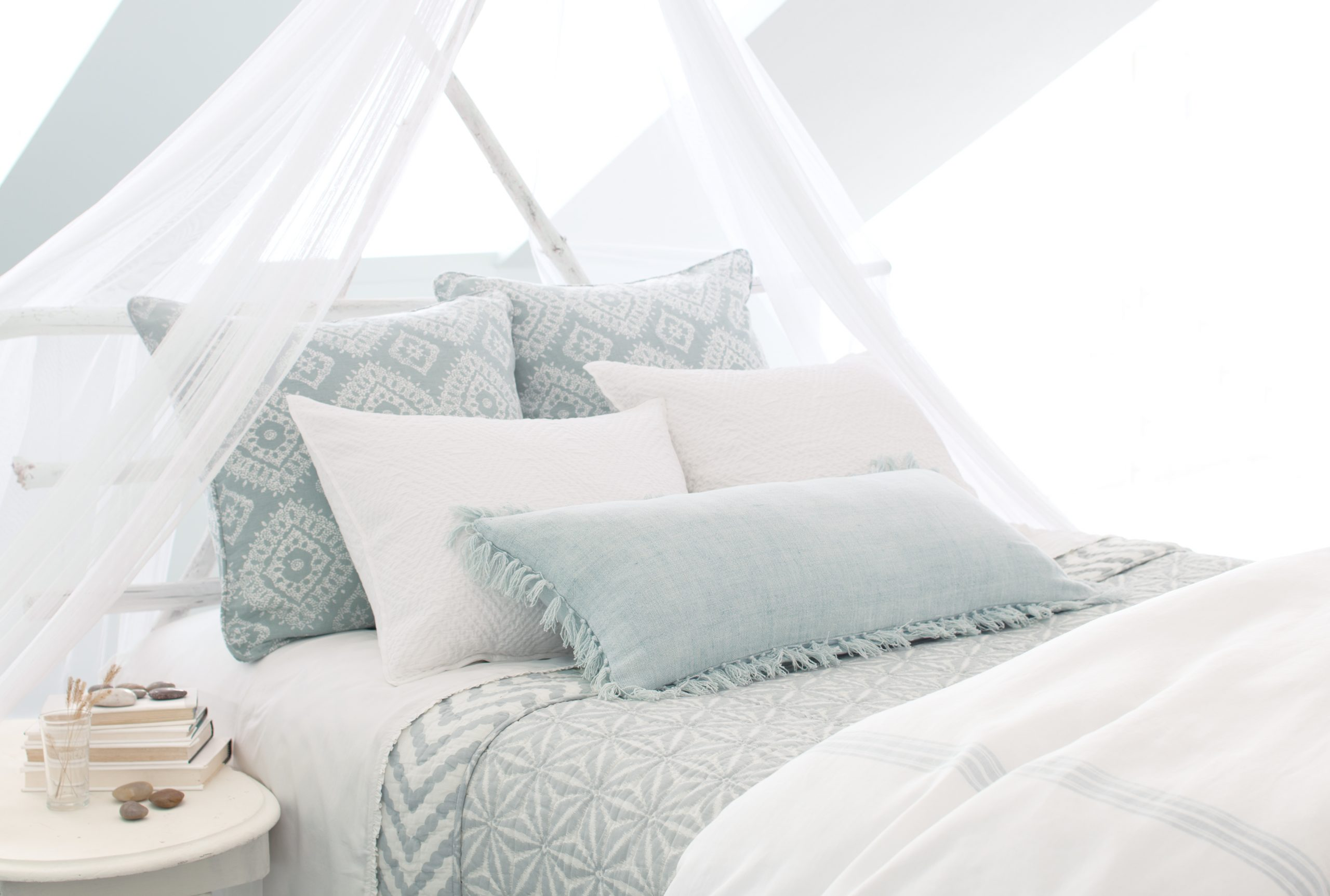 Picture of: How To Hang A Mosquito Net Bed Canopy