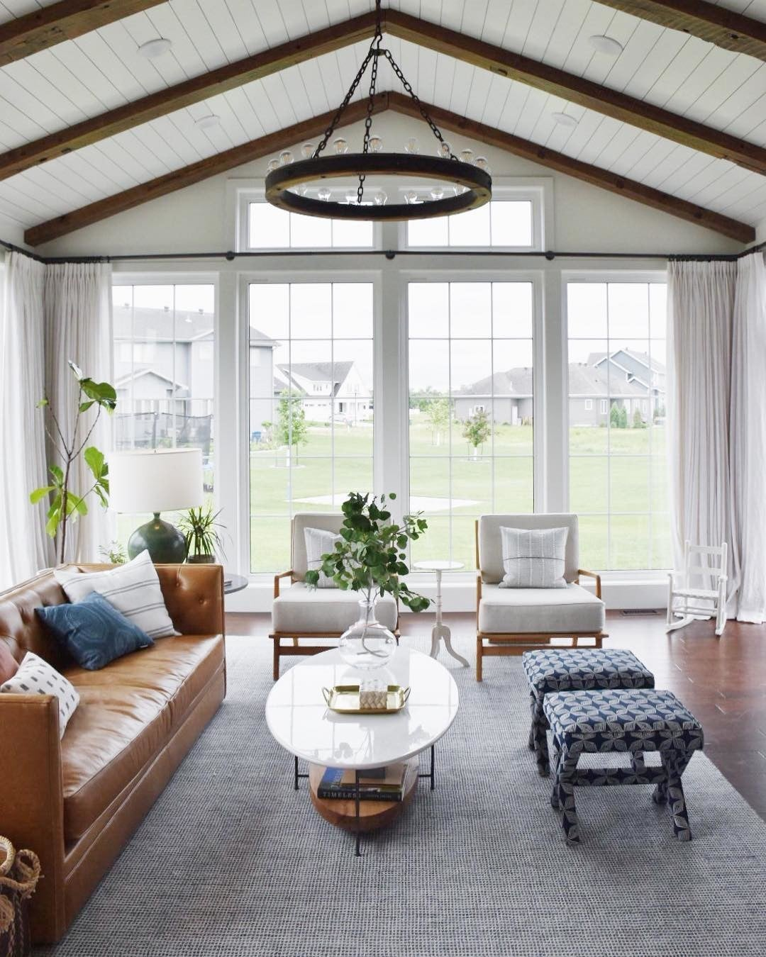Rug Ed: Rugs for Large Rooms - Fresh American Style